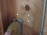 how to cut a hole in vinyl siding