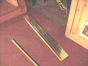 Floor Door Strip Amp Here I U0027m Notching The Laminate
