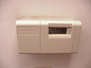 Shiny new thermostat