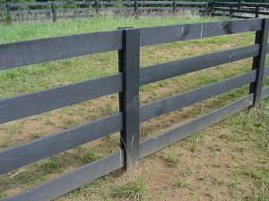 Horse Fencing Installing Fence Boards